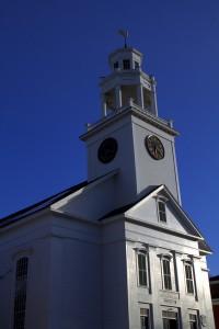 Old South Church in Newburyport, MA